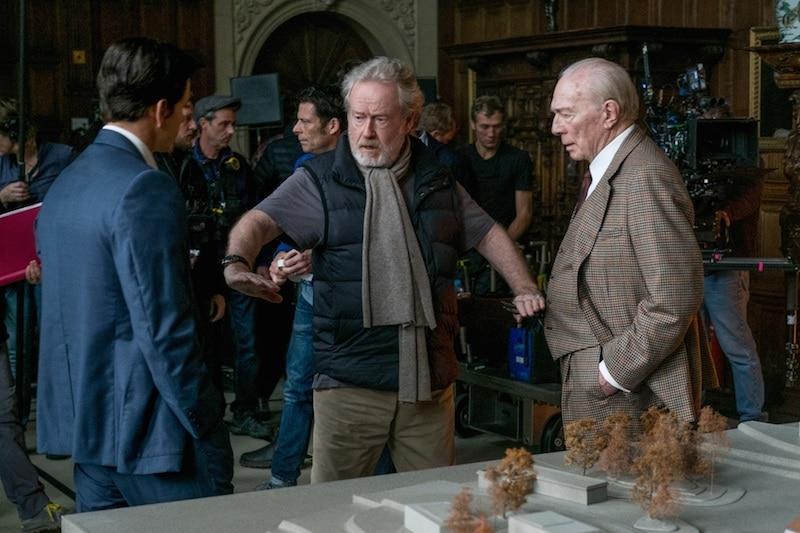 Ridley Scott não avisou Kevin Spacey que ele seria cortado de Todo o Dinheiro do Mundo
