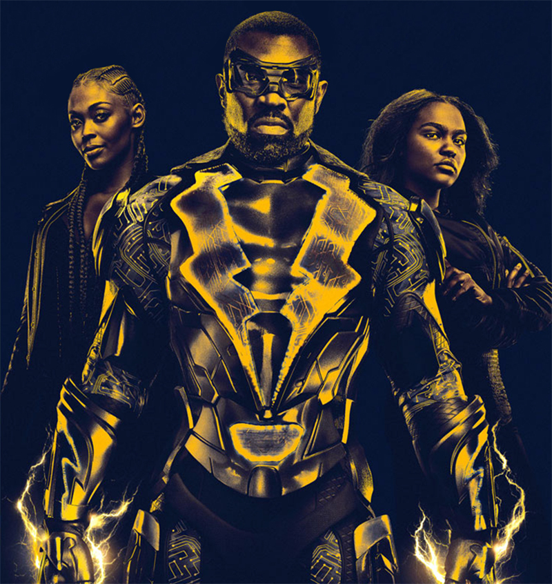 Black Lightning: Nova série da DC Comics vai chegar ao Brasil pela Netflix