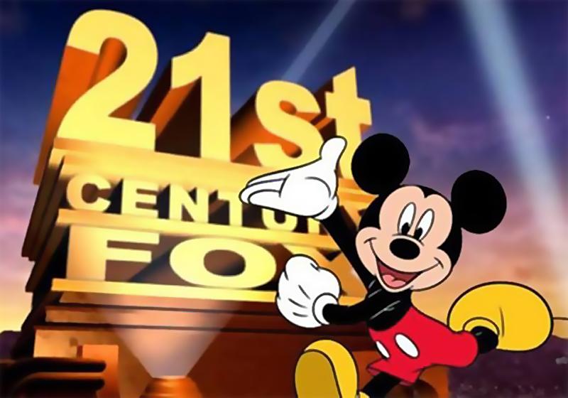 Disney compra a Fox por US$ 52,4 bilhões
