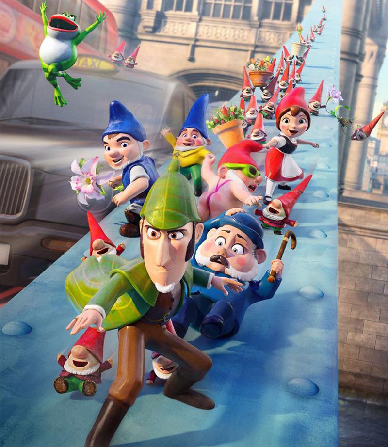 Continuação de Gnomeu e Julieta muda de nome e tem estreia adiada no Brasil