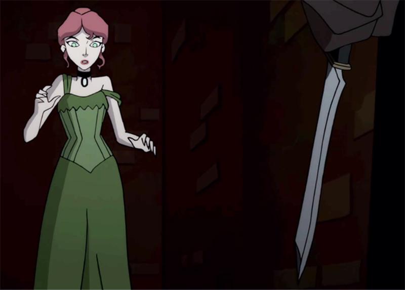 Hera Venenosa encontra Jack, o Estripador em cena de Batman: Gotham by Gaslight