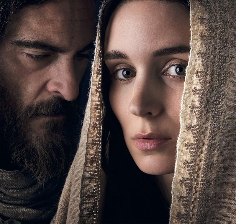 Pôster traz Rooney Mara como Maria Madalena e Joaquin Phoenix como Jesus