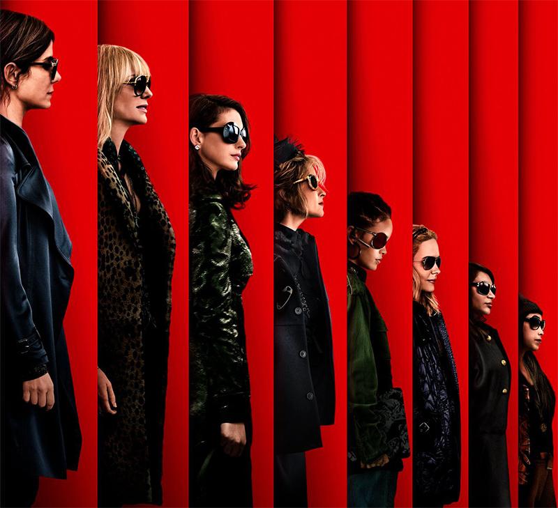 Sandra Bullock, Cate Blanchett e Rihanna se juntam no pôster de Oito Mulheres e um Segredo