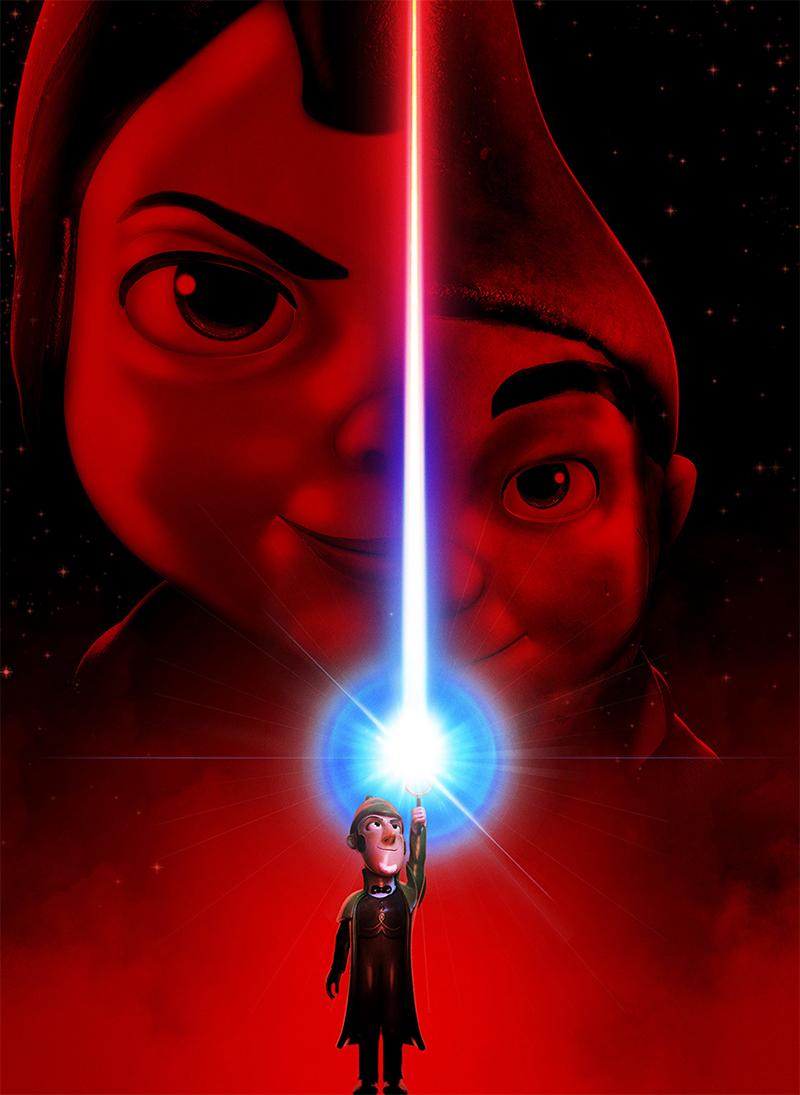 Novo pôster da animação Sherlock Gnomes parodia Star Wars