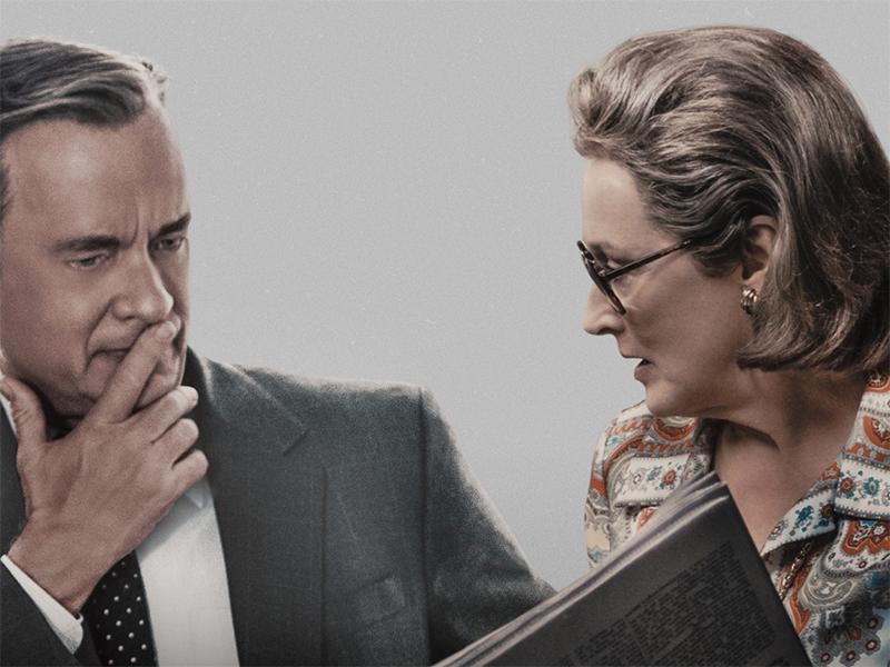 Cartazes de The Post destacam Tom Hanks, Meryl Streep e prêmios da crítica