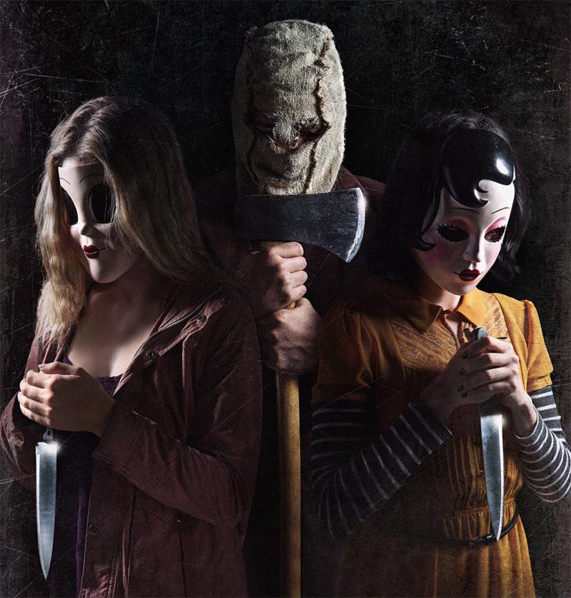 Psicopatas de Os Estranhos voltam a usar máscaras no pôster da continuação