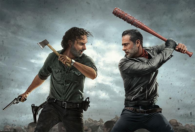 The Walking Dead: Rick diz que Negan é o próximo a morrer no trailer da metade final da 8ª temporada
