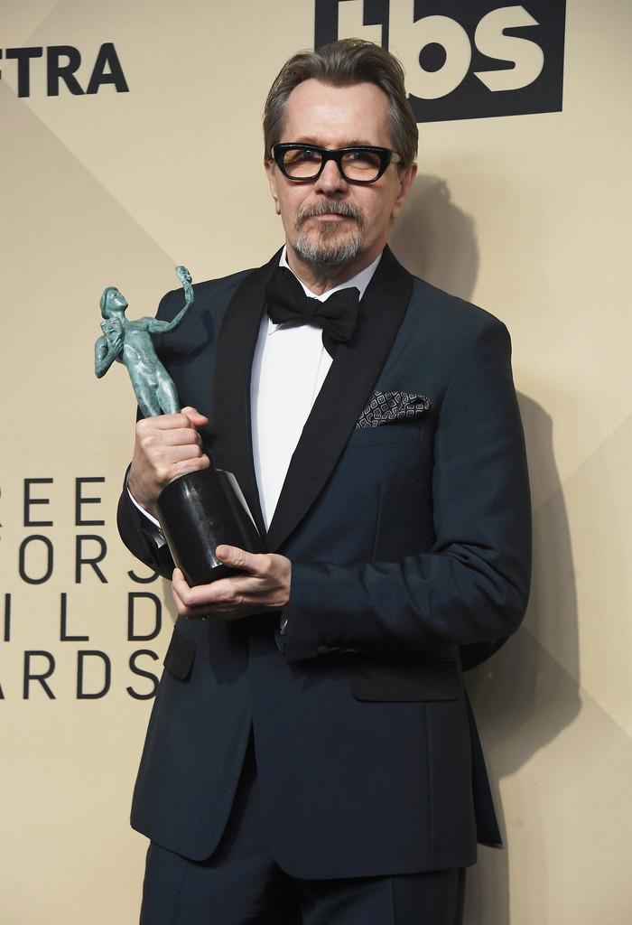 SAG Awards: Gary Oldman e Frances McDormand vencem o prêmio do Sindicato dos Atores