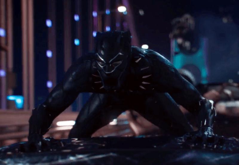 Cena inédita de Pantera Negra revela perseguição de carros espetacular
