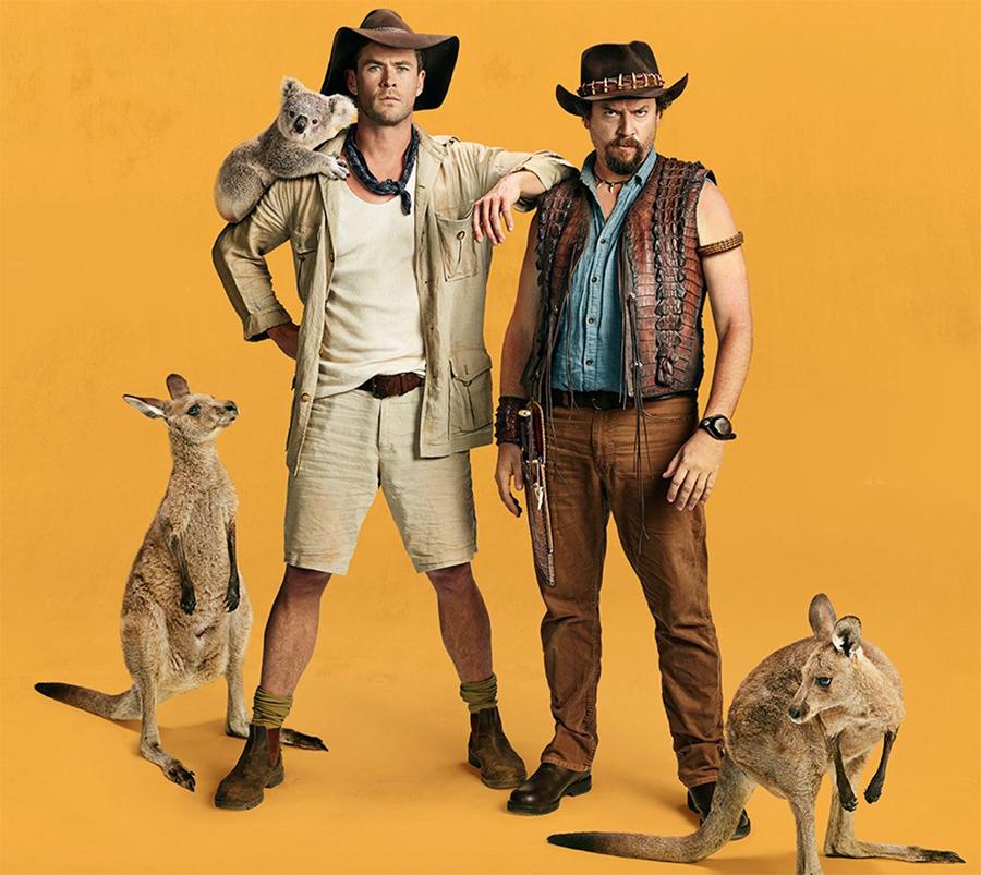 Chris Hemsworth aparece em novo teaser misterioso do filho de Crocodilo Dundee