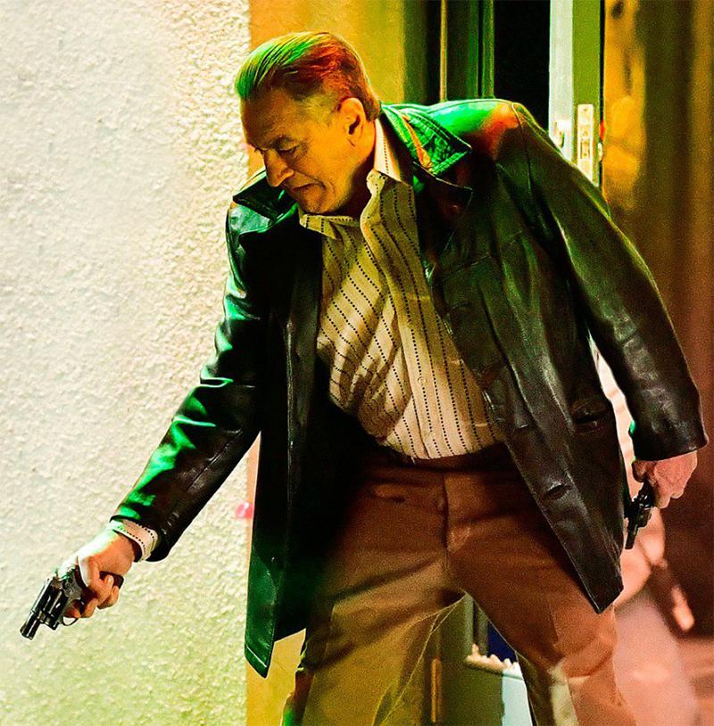 Robert De Niro estampa primeiro pôster do novo filme de Martin Scorsese