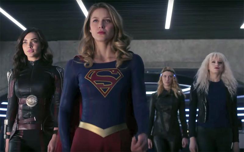 Supergirl forma equipe de supermulheres em vídeos e fotos do novo episódio