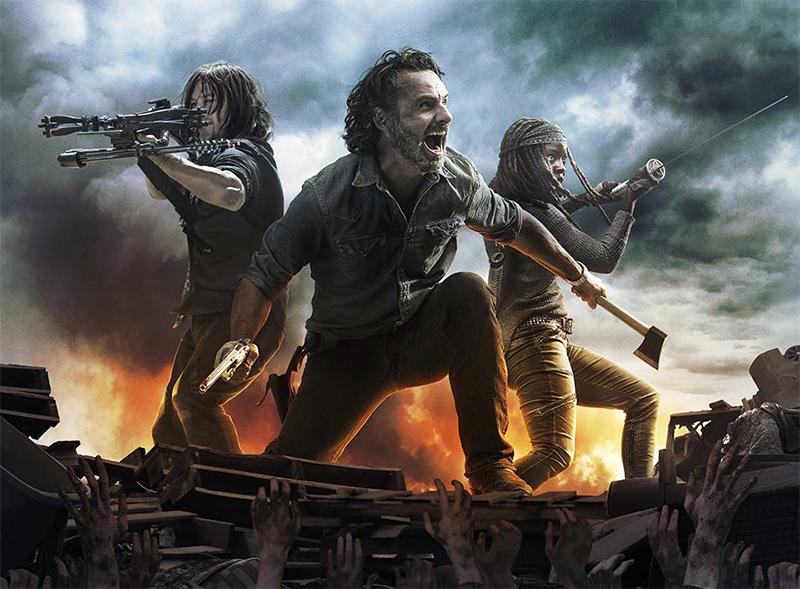 Rick promete matar Negan no trailer legendado da midseason de The Walking Dead