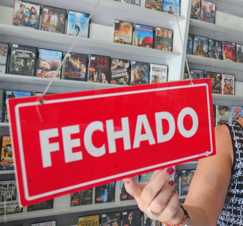 Última das grandes redes de videolocadoras fecha as portas no interior de São Paulo