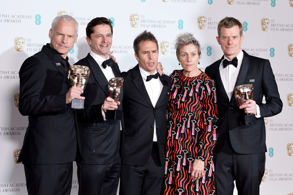 Três Anúncios para um Crime vence o BAFTA 2018