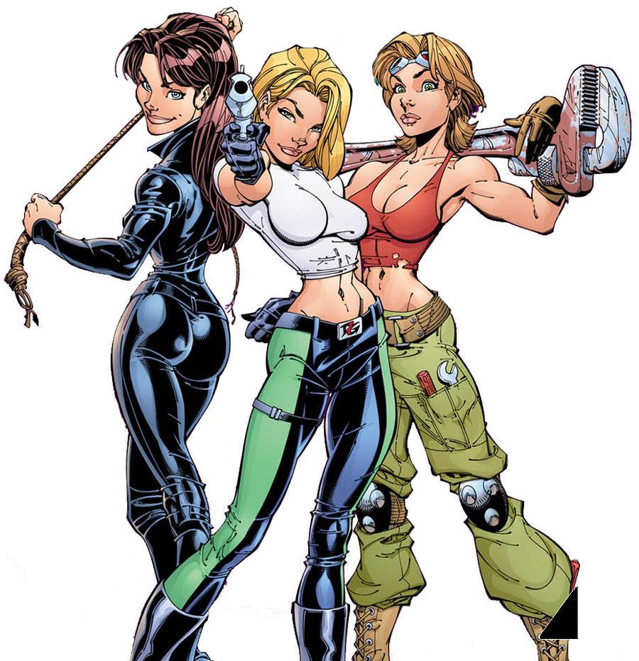 Adaptação dos quadrinhos de Danger Girl define roteirista