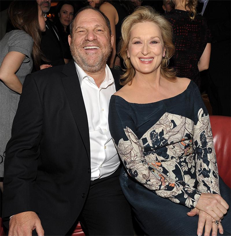 """Meryl Streep chama Harvey Weinstein de """"patético"""" por citá-la em sua defesa"""