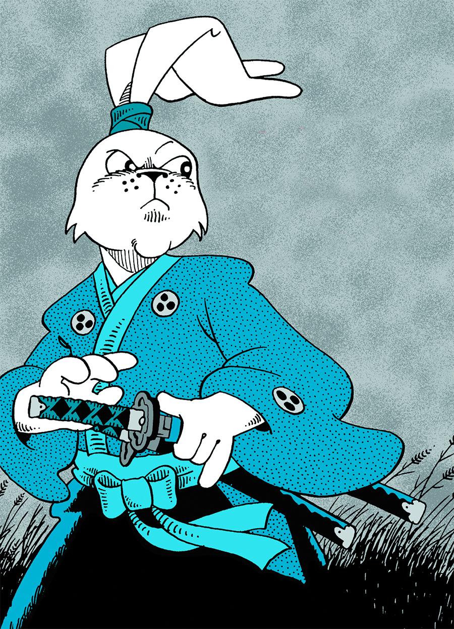 Netflix vai produzir série animada baseada nos quadrinhos de Usagi Yojimbo