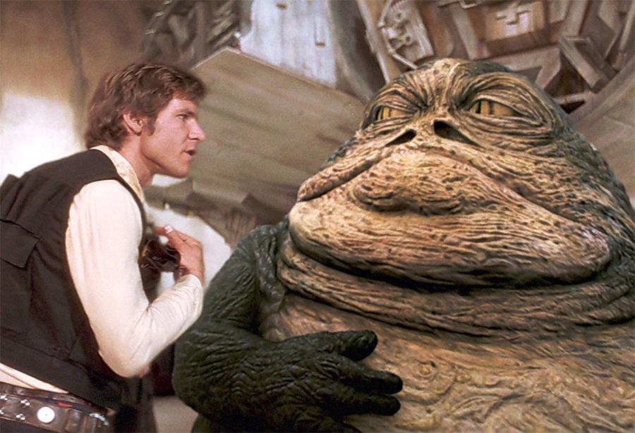 Filme de Han Solo pode ter participação do vilão Jabba the Hut