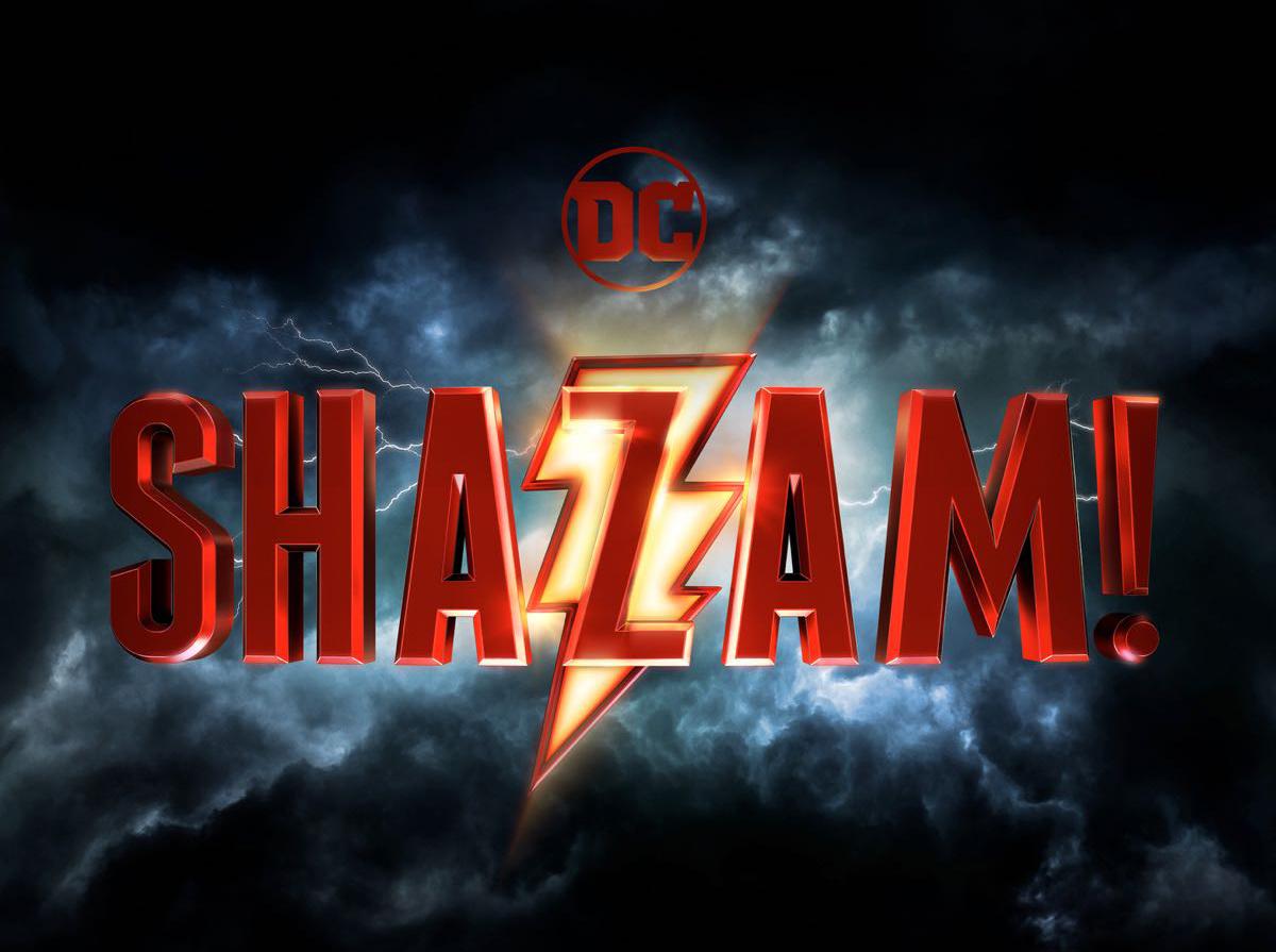 Filme do super-herói Shazam ganha logotipo oficial