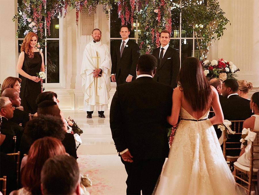 Trailer do final de temporada de Suits mostra casamento de Meghan Markle