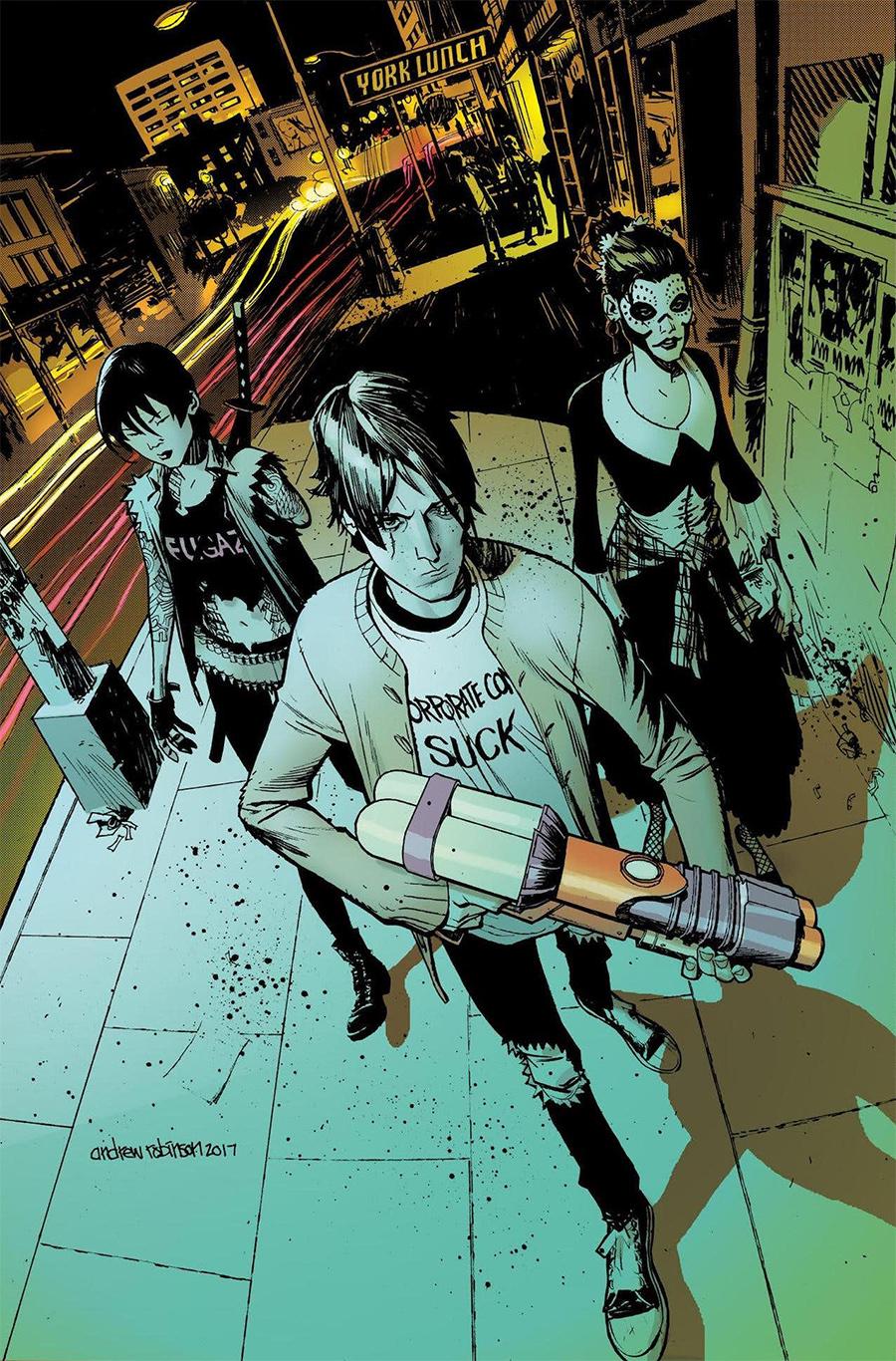 Quadrinhos de Deadly Class viram série com produção dos diretores de Vingadores: Guerra Infinita