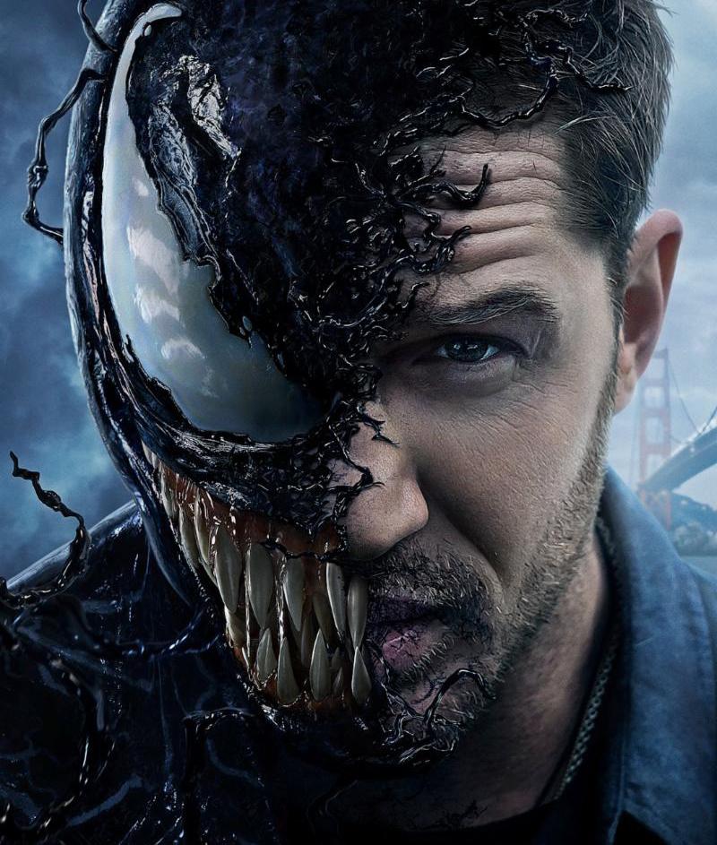 Tom Hardy vira Venom em três cenas inéditas do filme do vilão da Marvel