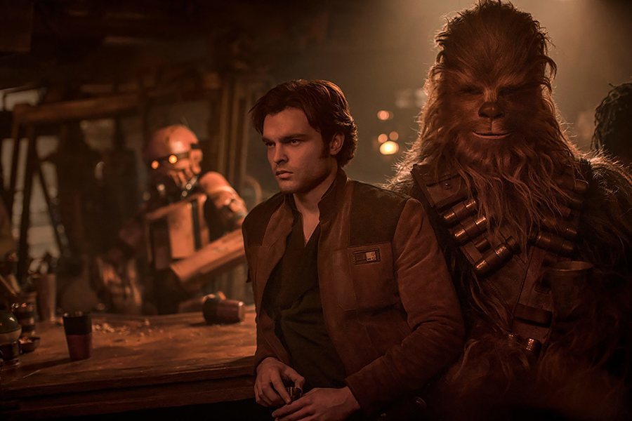 Vídeo de Han Solo revela que Chewbacca odeia spoilers