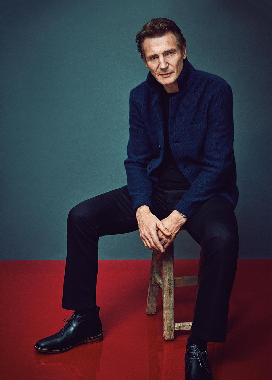 Liam Neeson será o novo chefe dos Homens de Preto no cinema