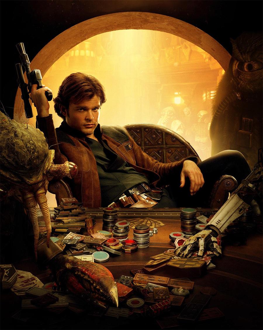 Problemas de bastidores fizeram de Han Solo o filme mais caro da franquia Star Wars