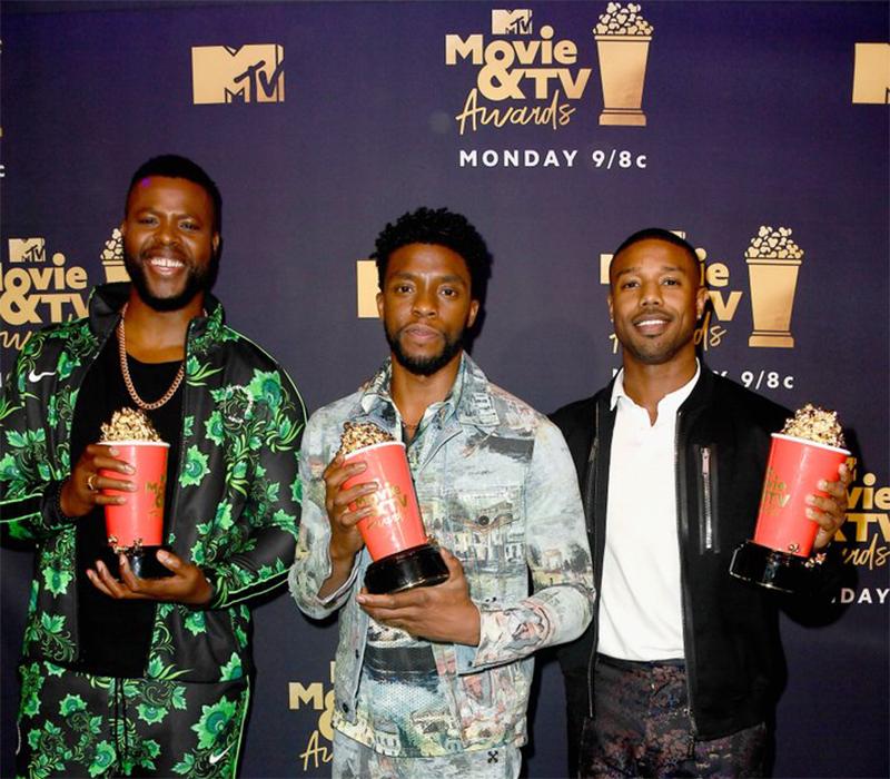 Pantera Negra e Stranger Things são os grande vencedores da premiação de cinema e TV da MTV