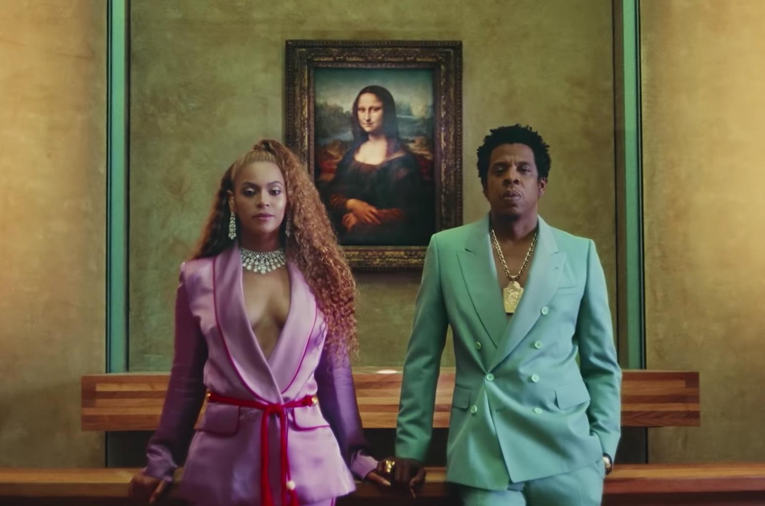 Beyoncé e Jay-Z lançam clipe gravado entre as obras-primas do museu do Louvre