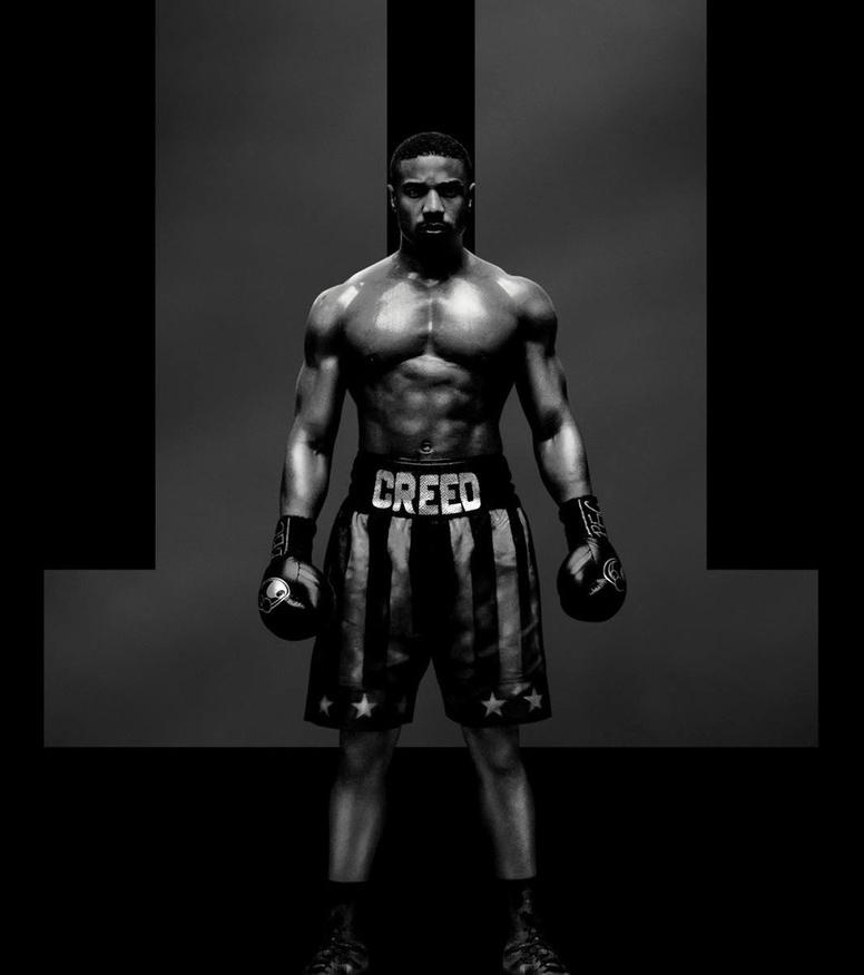 Michael B. Jordan volta ao ringue no primeiro pôster de Creed II
