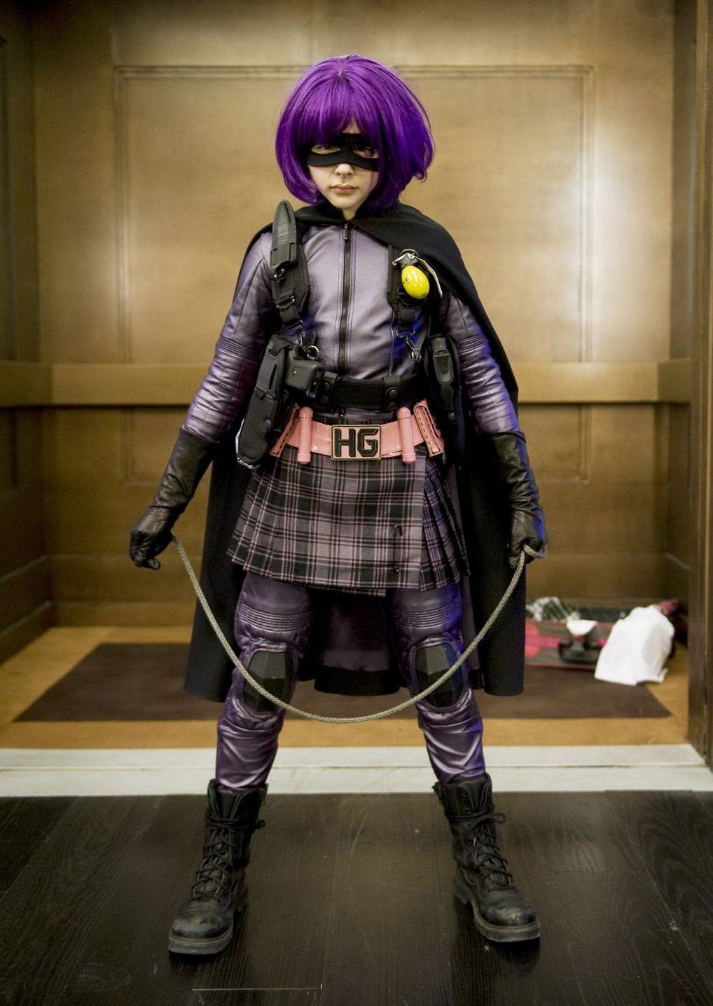 Chloë Moretz não pretende voltar a viver Hit-Girl em novos filmes de Kick-Ass
