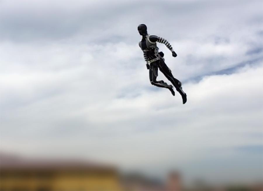 """Disney inventa primeiro """"dublê eletrônico"""", um robô capaz de fazer acrobacias perfeitas"""