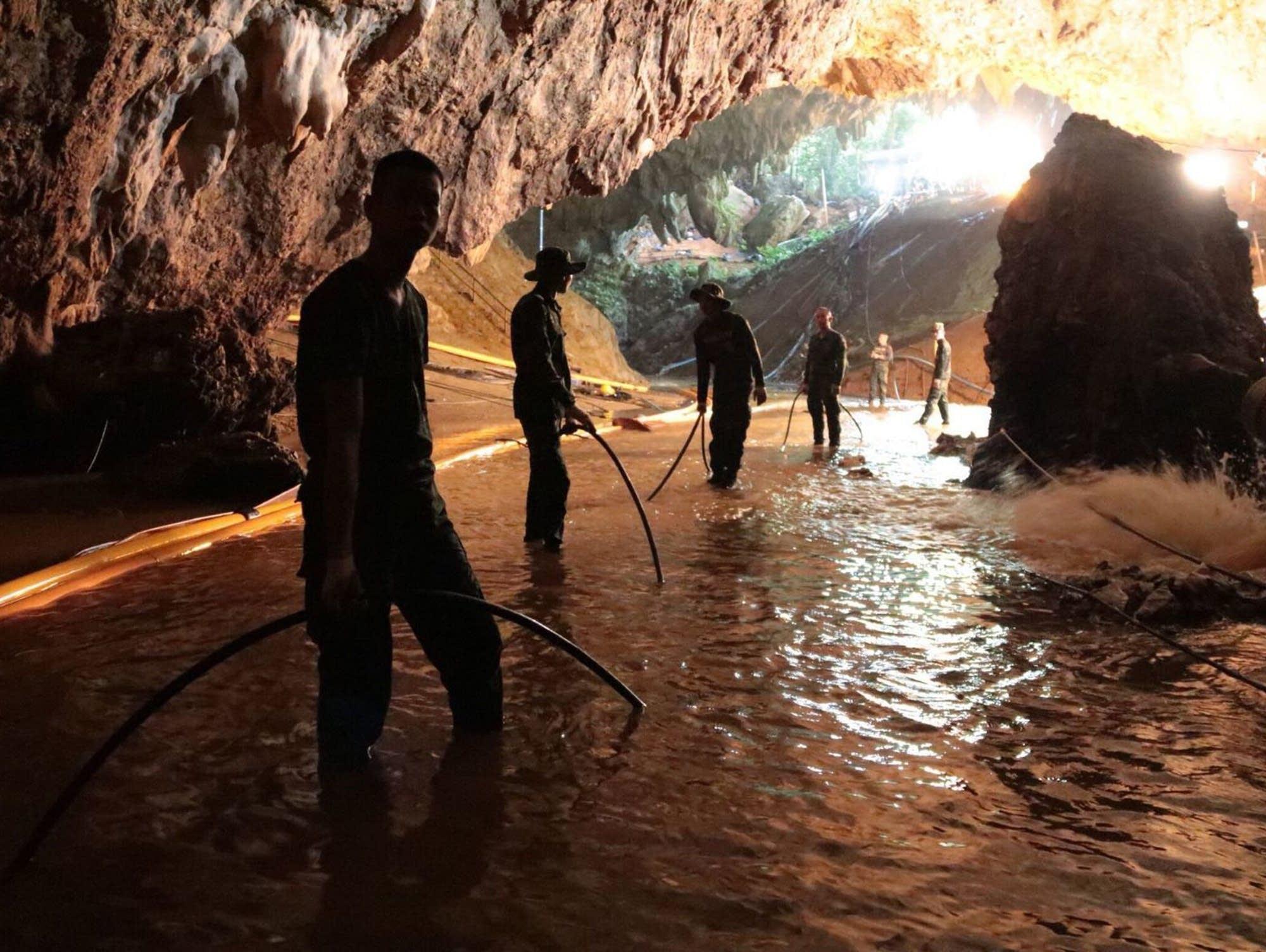 Já existem seis projetos de filmes sobre o resgate dos meninos da Tailândia