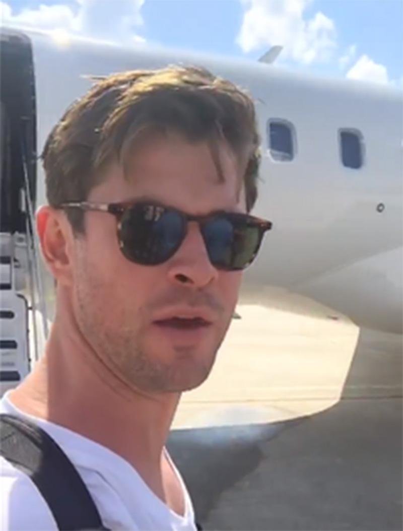 Chris Hemsworth já terminou suas refilmagens de Vingadores 4