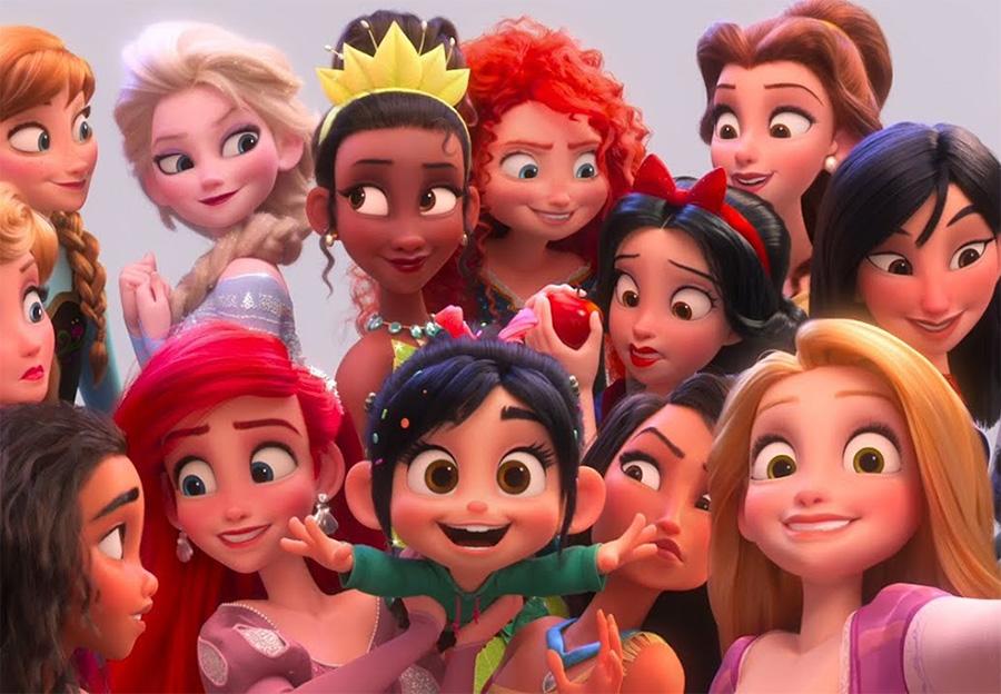 Após repercussão negativa, Disney muda visual da princesa Tiana em WiFi Ralph