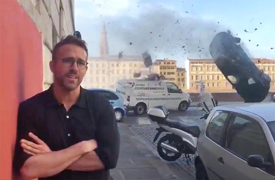 Ryan Reynolds goza Michael Bay em vídeo de bastidores do filme de ação 6 Underground
