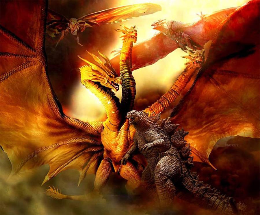 Novo trailer legendado de Godzilla 2 mostra monstros gigantes em batalha apocalíptica | Pipoca Moderna