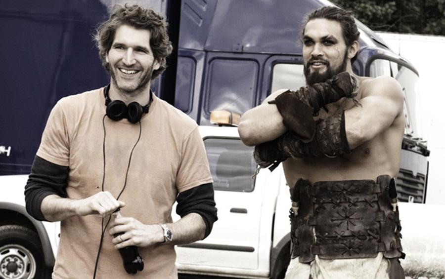 Criador de Game of Thrones desafiou Jason Momoa e foi parar no hospital