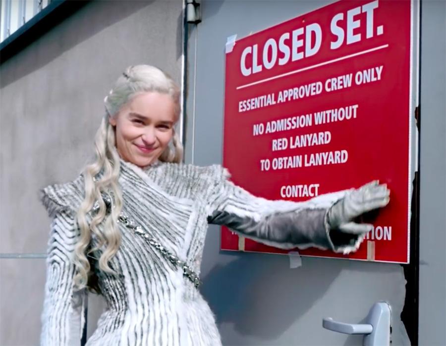 Emilia Clarke se despede de Game of Thrones no Instagram