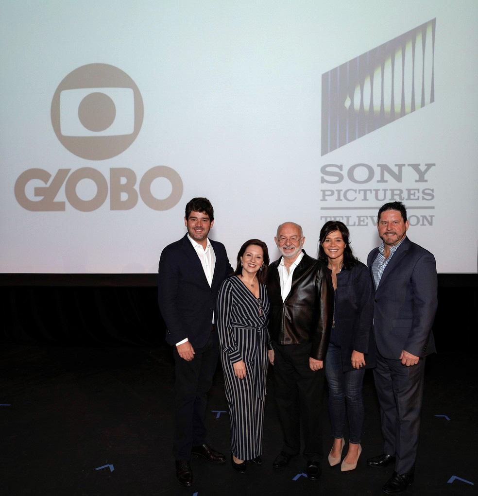 Globo e Sony fecham parceria para produção de séries em inglês