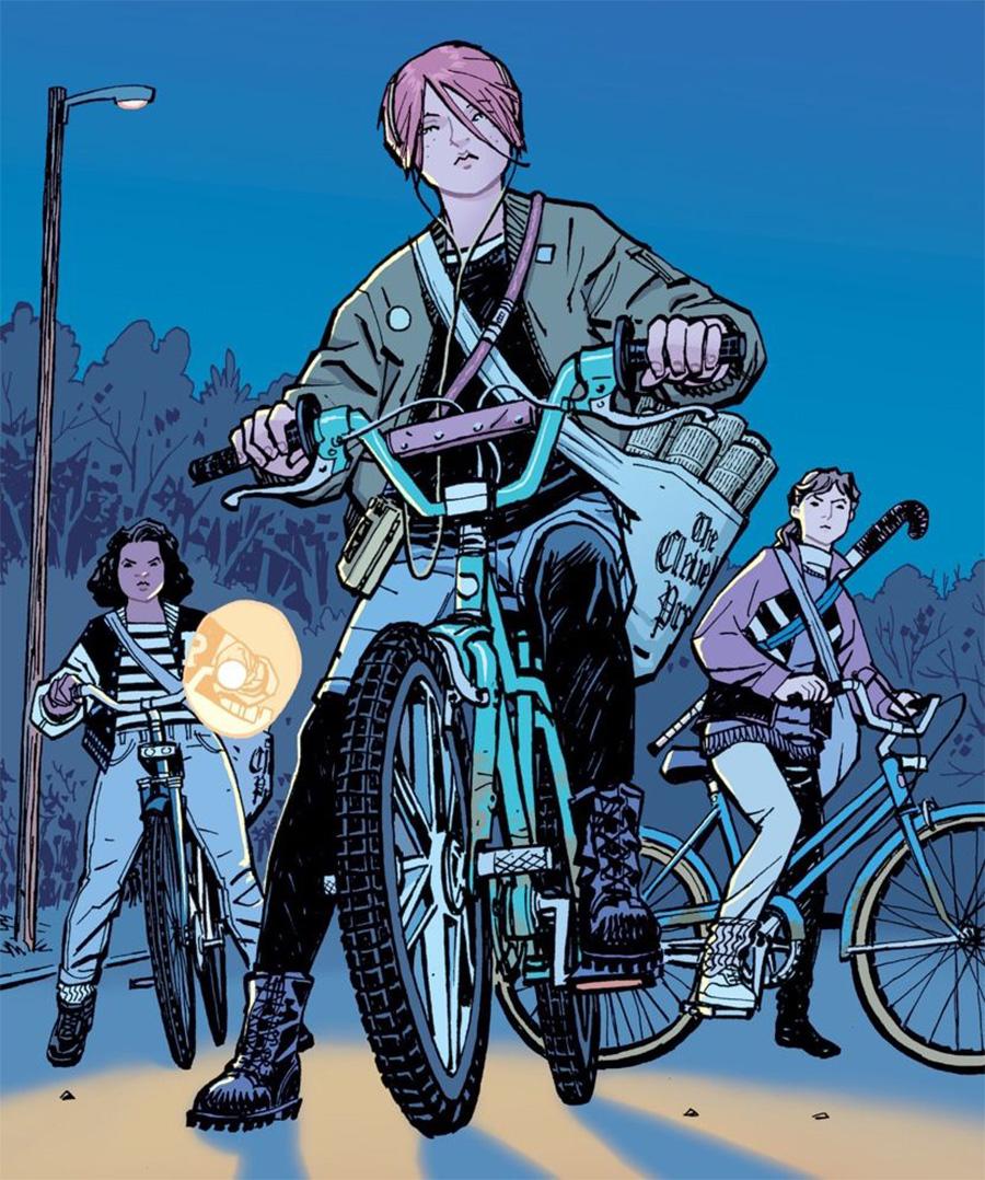 Paper Girls: Quadrinhos do criador de Fugitivos vão virar série da Amazon | Pipoca Moderna
