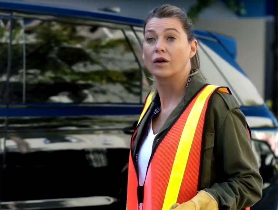 Grey's Anatomy: Meredith cumpre serviço comunitário no trailer da 16ª temporada | Pipoca Moderna