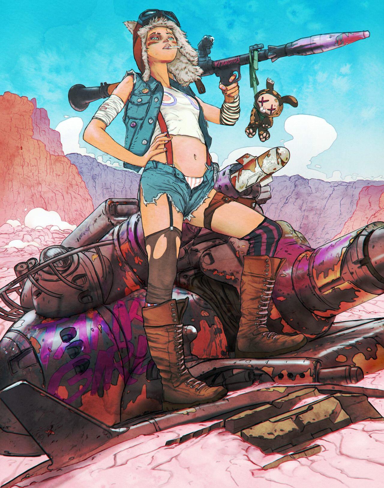 Margot Robbie adquire os direitos dos quadrinhos de Tank Girl | Pipoca Moderna