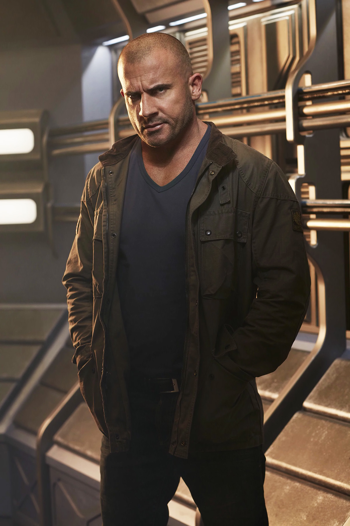 """Dominic Purcell abandona """"Legends of Tomorrow"""""""